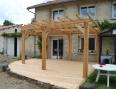 Terrasse Pergola mélèze 2